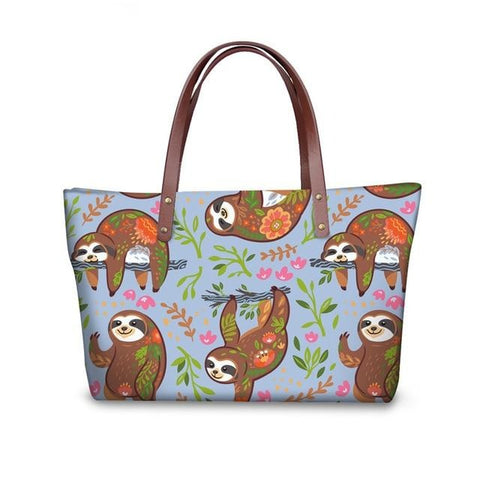 Bluer Sloth Handle Bag