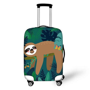 Butterfly Friend Luggage and Suitcase Cover - Sloth Gift shop