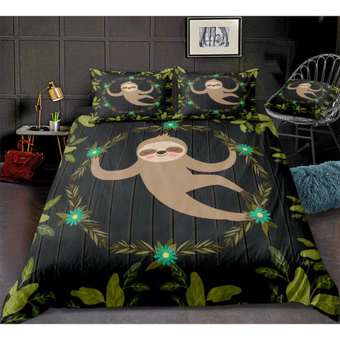 Enchanted Sloth Bedding Set