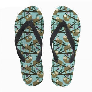Lot of Sloth Sandals