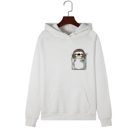 Image of Sloth is Hidding Hoodie - Sloth Gift shop