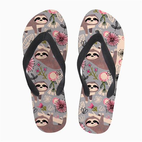 Cheerful Sloth Sandals