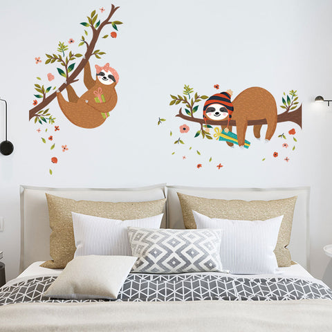 Sloth Wall Stickers - Sloth Gift shop