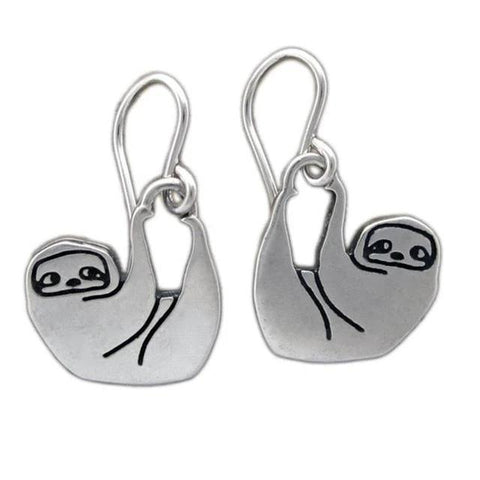 Hold On Sloth Earrings