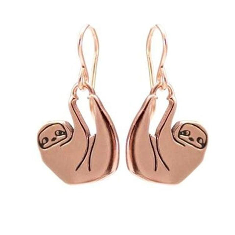 Hold On Sloth Earrings - Sloth Gift shop
