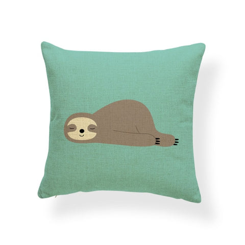 Butt Out Sloth Cushion Cover - Sloth Gift shop