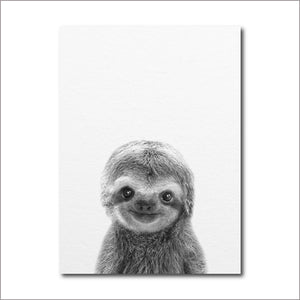 Cute Baby Sloth Poster - Sloth Gift shop