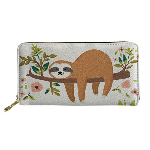 Sleepy Sloth Purse / Wallet - Sloth Gift shop