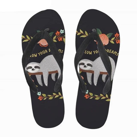 Follow Dreams Sloth Sandal