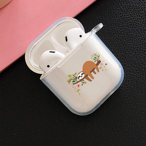 Smile Sloth Airpod Case - Sloth Gift shop