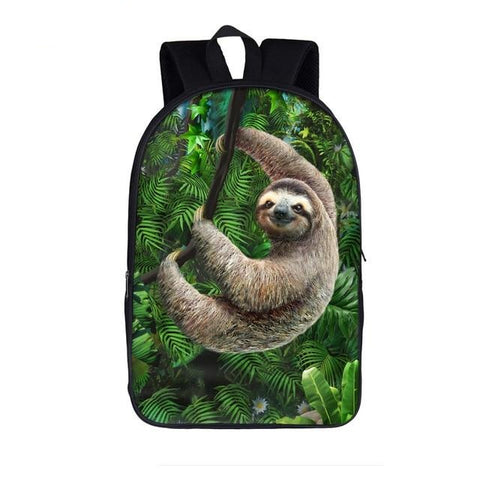 Jungle Sloth Travel Backpack