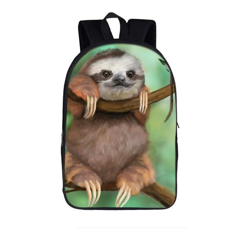 Watching Sloth Travel Backpack - Sloth Gift shop