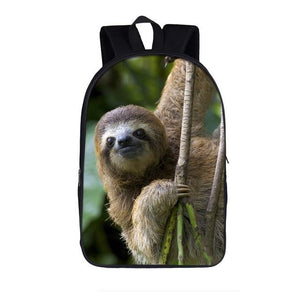 Roots Sloth Travel Backpack - Sloth Gift shop