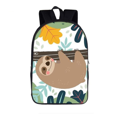 Make Up Sloth Travel Backpack - Sloth Gift shop