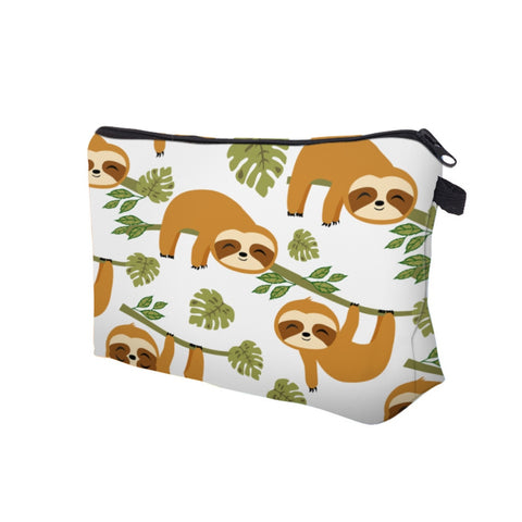 Image of Hang in There Sloth Makeup Bag - Sloth Gift shop