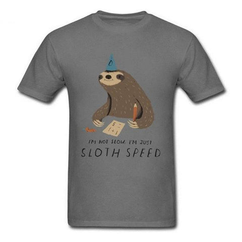 Image of Sloth Speed T-shirt - Sloth Gift shop