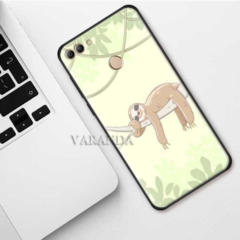 Napping Sloth Huawei Case