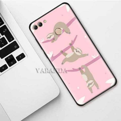 Moody Sloth Huawei Case