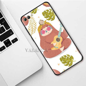 Guitar Sloth Huawei Case
