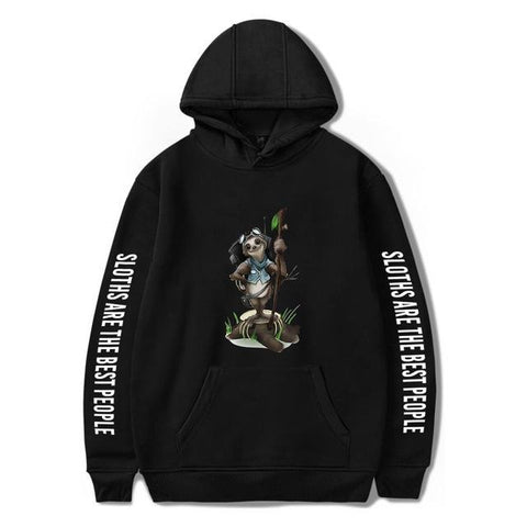 The Adventurer Sloth Hoodie - Sloth Gift shop