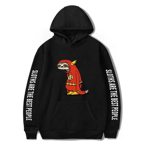 Image of Super Sloth Hoodie - Sloth Gift shop
