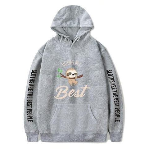 Doing My Best Hoodie - Sloth Gift shop