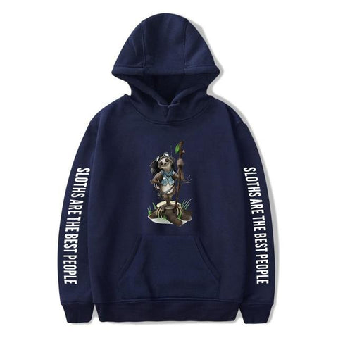 Image of The Adventurer Sloth Hoodie - Sloth Gift shop