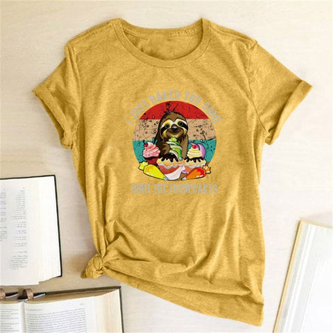 Image of Baking Sloth T-shirt