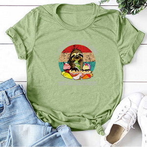 Baking Sloth T-shirt