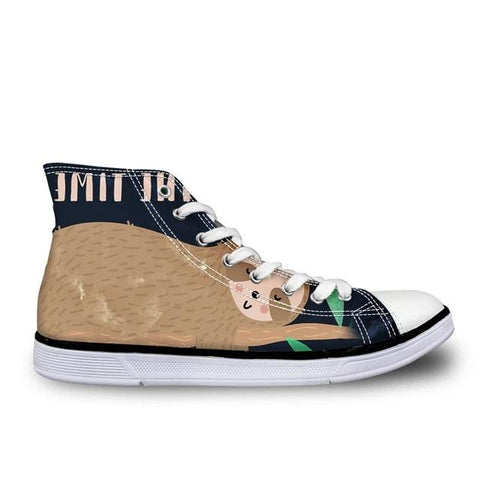 Stretching Sloth Shoes - Sloth Gift shop