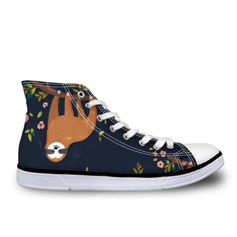 Navy Sloth Shoes - Sloth Gift shop