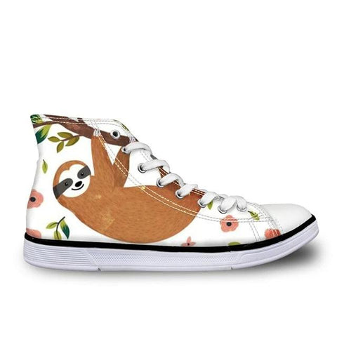 Winking Sloth Shoes - Sloth Gift shop