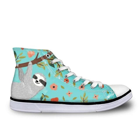 Girly Sloth Shoes