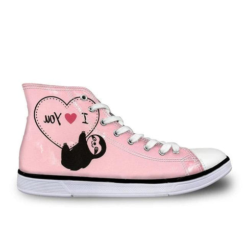 I Heart Sloth Shoes - Sloth Gift shop