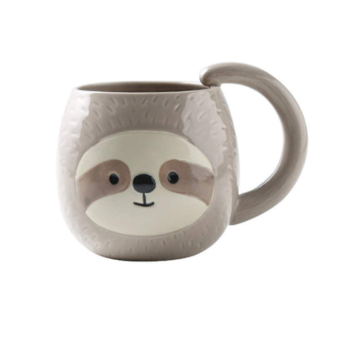 Sloth Closed Eye Mug - Sloth Gift shop
