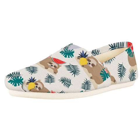 Hawaiin Sloth Shoes - Sloth Gift shop