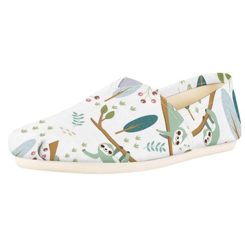 Image of Summer Sloth Shoes - Sloth Gift shop