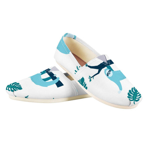 Image of Bluer Than Sloth Shoes - Sloth Gift shop