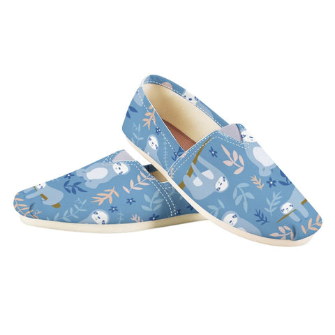 Blue Baby Sloth Shoes
