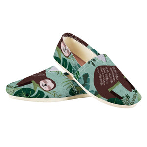 Smiling Sloth Shoes - Sloth Gift shop