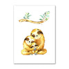 Family Sloth Love Poster - Sloth Gift shop