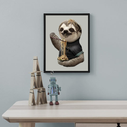Image of Mr. Sloth Poster