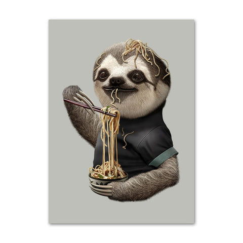 Image of Mr. Sloth Poster - Sloth Gift shop