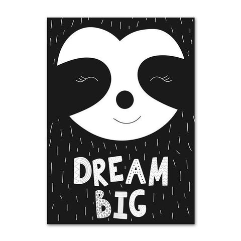 Dream Sloth Big Poster - Sloth Gift shop
