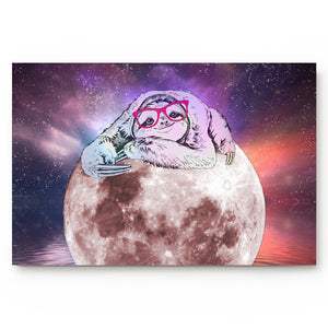 Starry Sloth Sky Door Mat - Sloth Gift shop