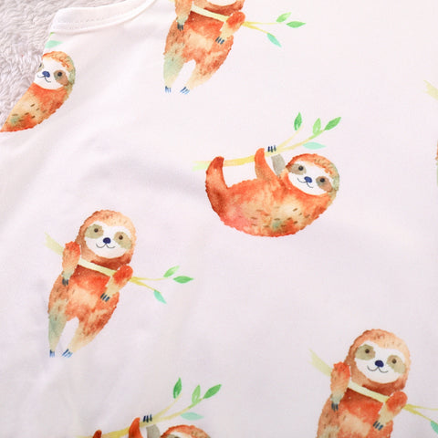 Image of Sleeveless Sloth Jumpsuit - Sloth Gift shop