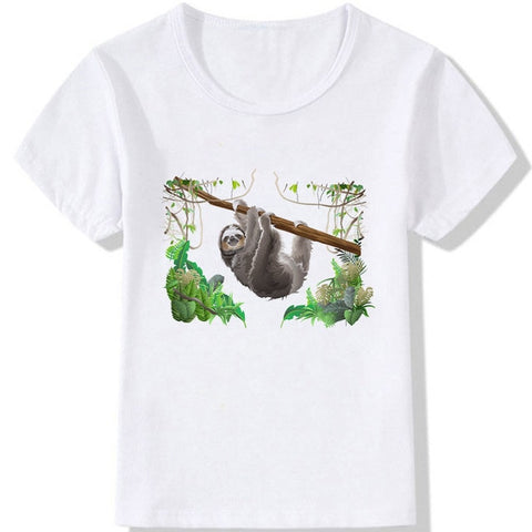 Forest Sloth T-shirt