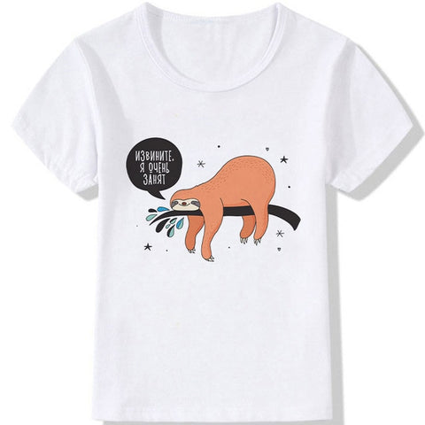 Image of Backread Sloth T-shirt