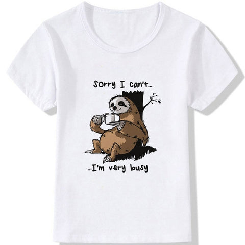 Busy Sloth T-shirt