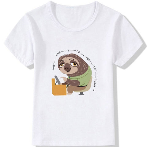 What Can I do For You Sloth T-shirt